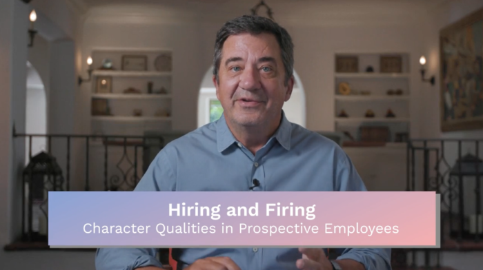 Hiring: Character Qualities in Prospective Employees