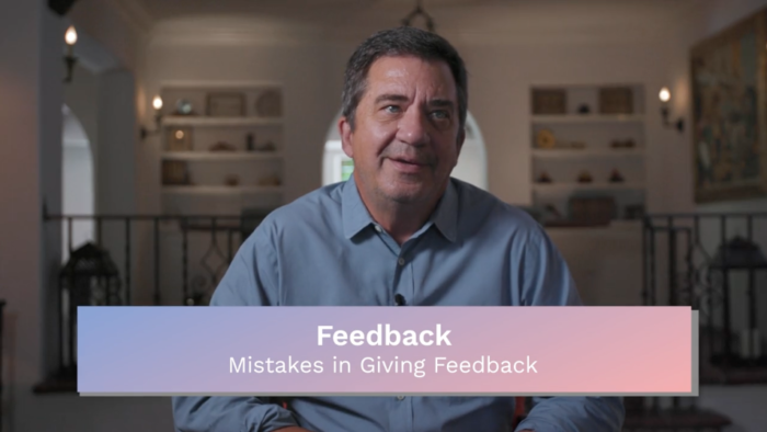Feedback: Mistakes in Giving Feedback