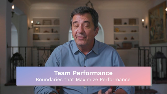 Team Performance: Boundaries that Maximize Performance