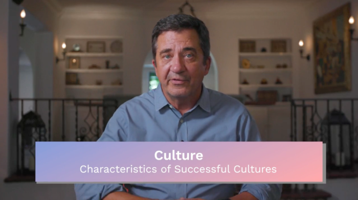 Culture: Characteristics of Successful Cultures