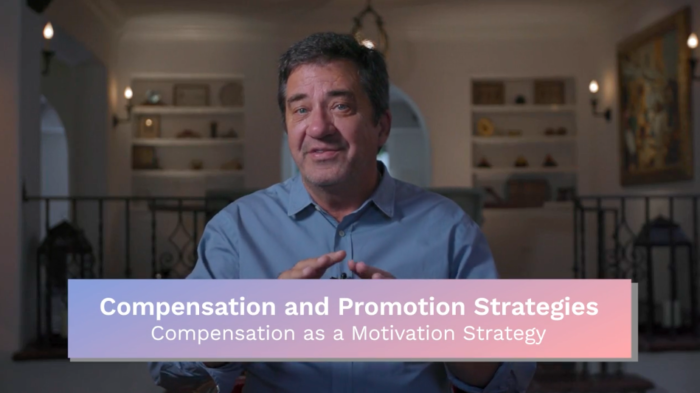 Compensation & Promotion: Compensation as a Motivation Strategy