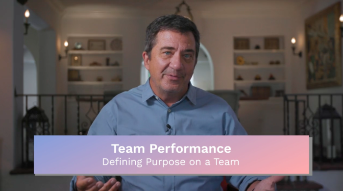 Team Performance: Defining Purpose on a Team