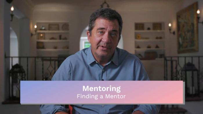 Mentoring: Finding a Mentor