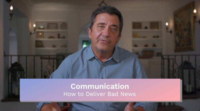 Communication: How to Deliver Bad News