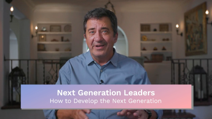 Next Generation: How to Develop the Next Generation
