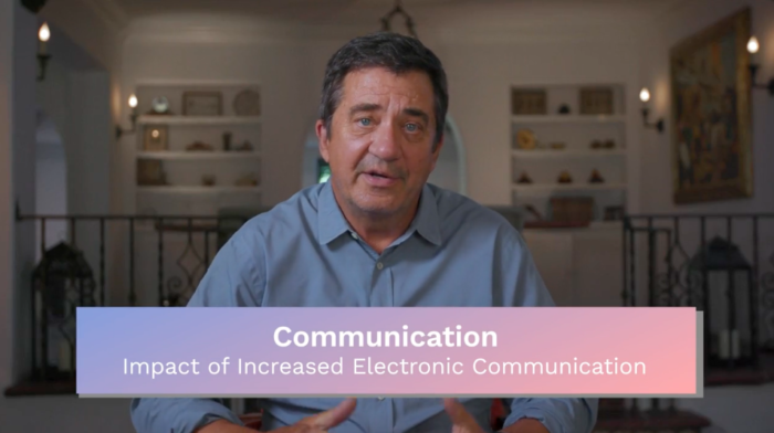 Communication: Impact of Increased Electronic Communication