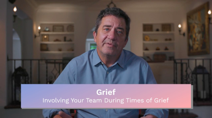 Grief: Involving Your Team During Times of Grief