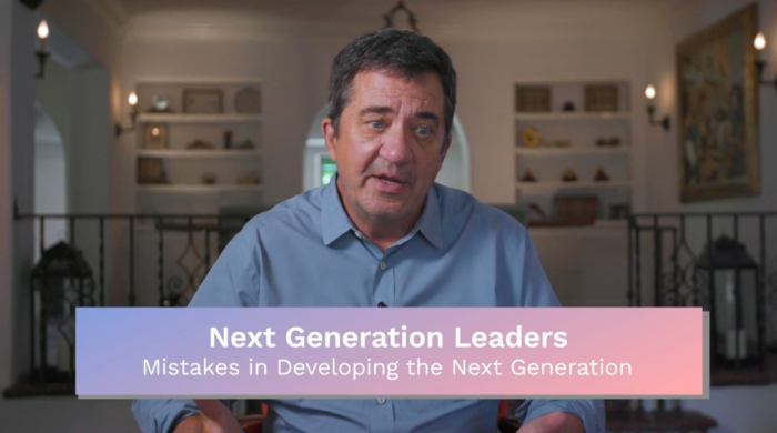 Next Generation: Mistakes in Developing the Next Generation