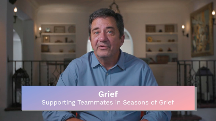 Grief: Supporting Teammates in Seasons of Grief
