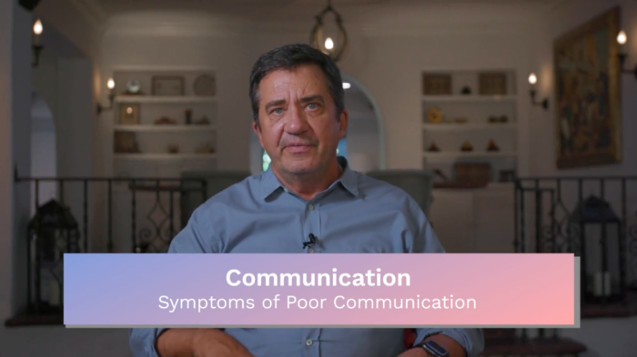 Communication: Symptoms of Poor Communication