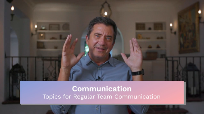 Communication: Topics for Regular Team Communications